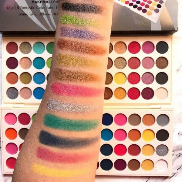 glamorous face eyeshadow palette review in pakistan sanwarna.pk