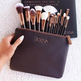 15 Zoeva Brushes Set Complete Online Price in Pakistan sanwarna.pk