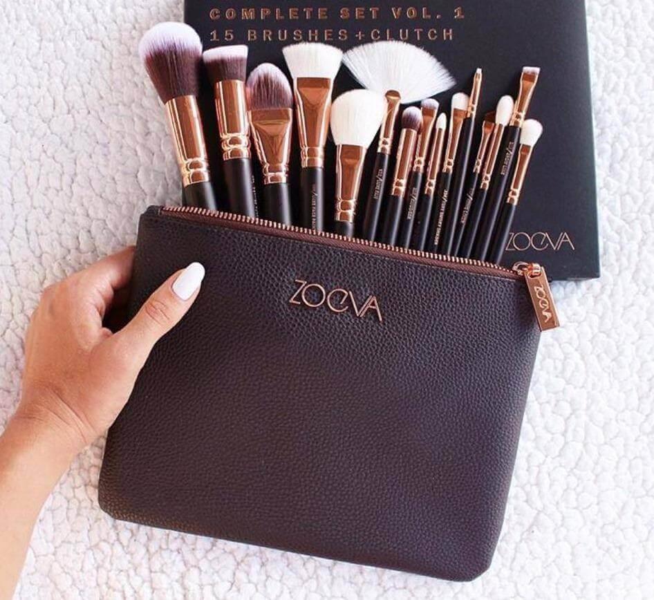 15 Zoeva Brushes Set Complete Online Price in Pakistan sanwarna.pk