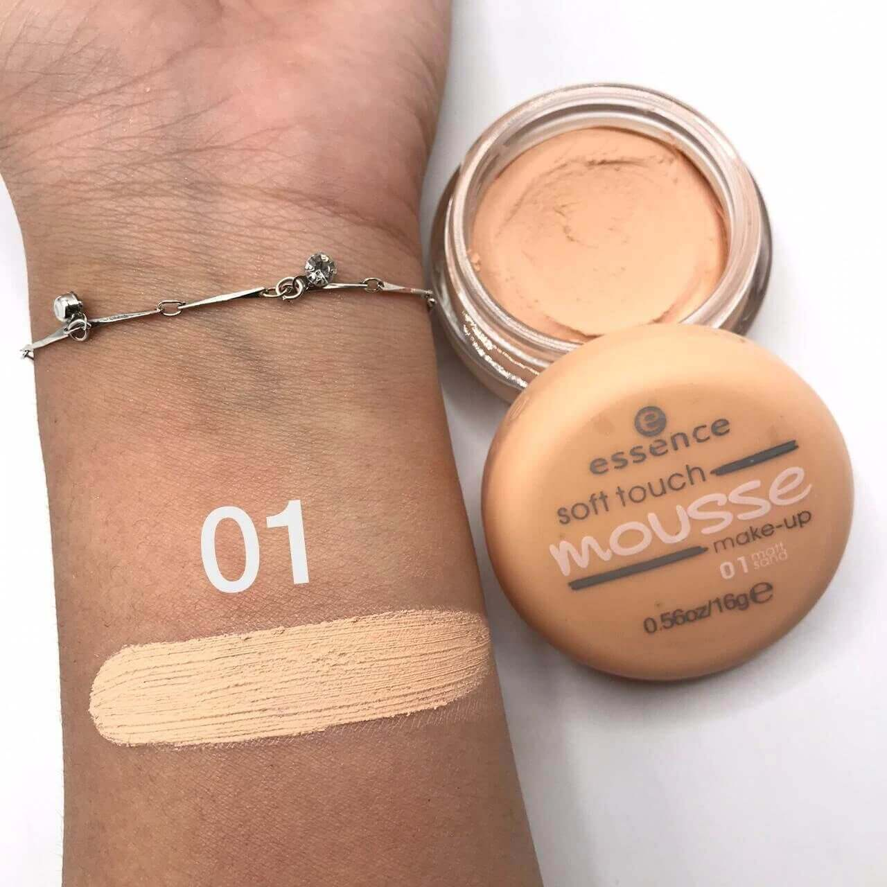 essence soft touch mousse foundation shades in pakistan sanwarna.pk