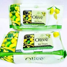 Skin Care Olive Wet Wipes Best Prices in pakistan sanwarna.pk