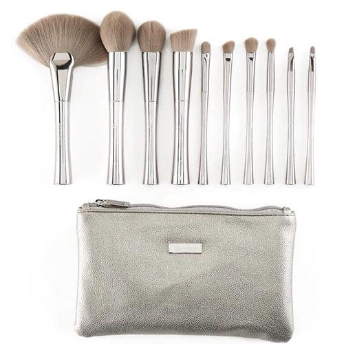 Bh Cosmetic 10 pcs Brush set Buy Online in pakistan sanwarna.pk