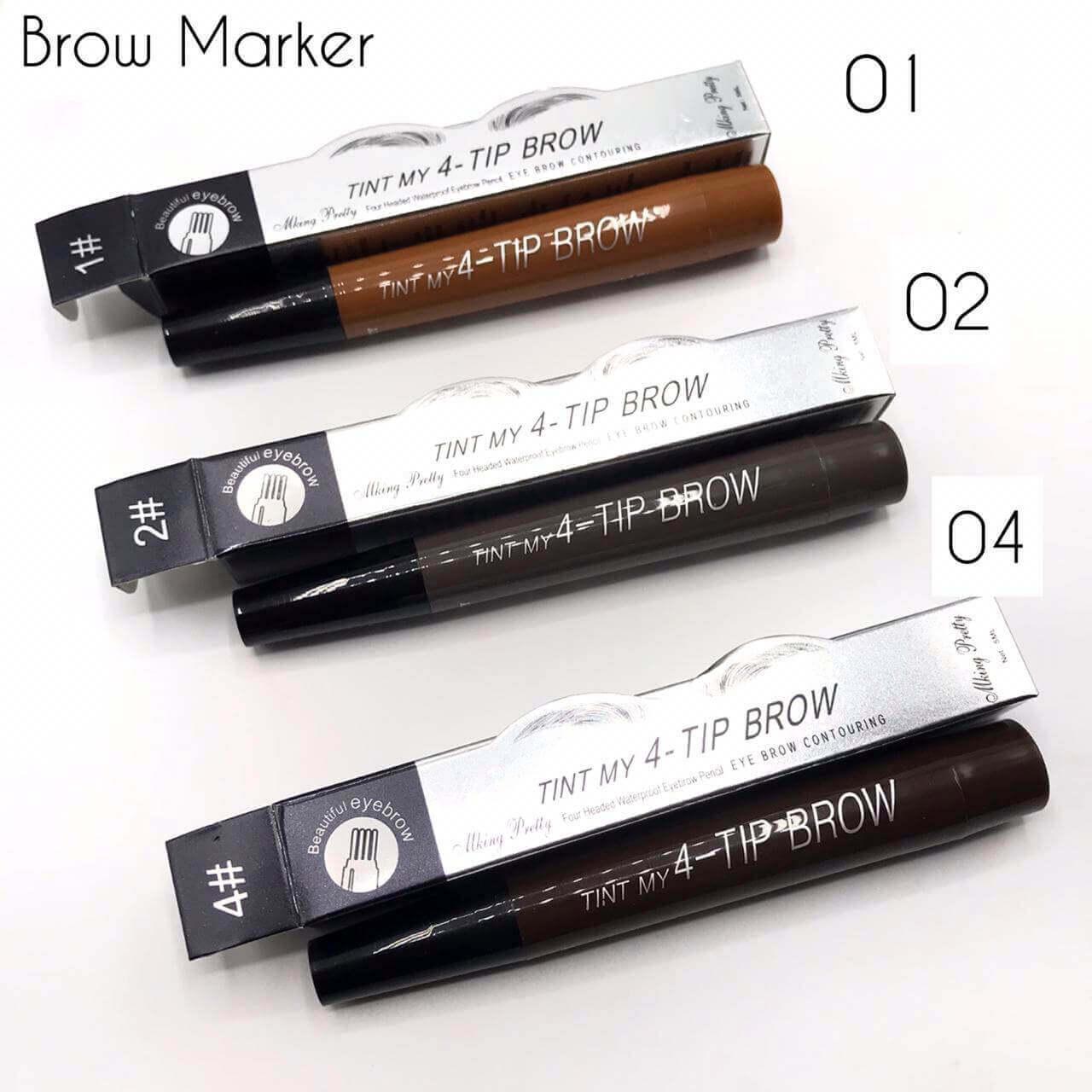 best 4 tip eyebrow pen price in pakistan sanwarna.pk