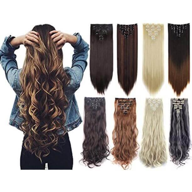 buy hair extension in pakistan sanwarna.pk