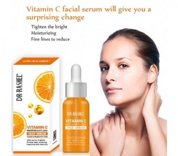 Dr. rashel vitamin c face serum Buy Online in pakistan sanwarna.pk