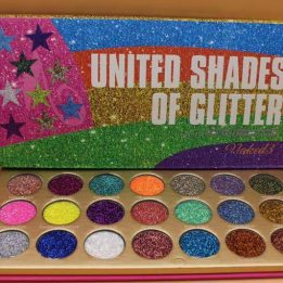 United Shades of Glitter 21 Pressed Glitter Palette price in pakistan sanwarna.pk