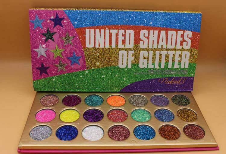 United Shades of Glitter 21 Pressed Glitter Palette price in pakistan sanwarna.pk