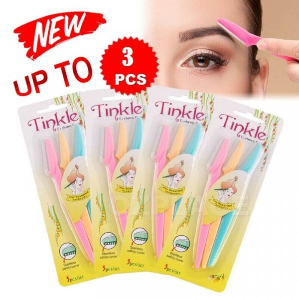 Buy Tinkle Women Eyebrow Razor, 3 Pieces in pakistan sanwarna.pk