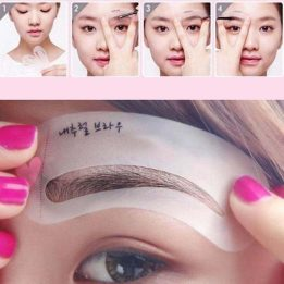 3 Styles Shape Mini Eye Brow Class Frame Drawing Guide price in pakistan sanwarna.pk