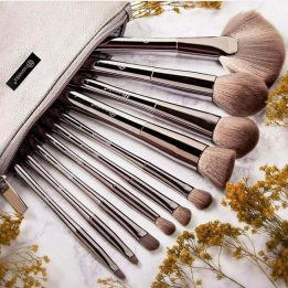 BH cosmetics 10 pcs brush set in pakistan sanwarna.pk