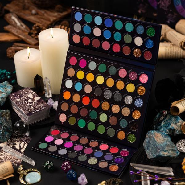 The zodiac 96 colour eyeshadow palette - sanwarna.pk