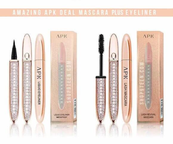 apk Mascara and Eyeliner in pakistan sanwarna.pk