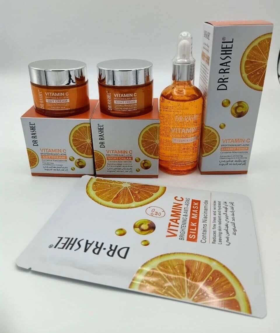 Dr-Rashel Vitamin-C Series Complete Kit Price in Pakistan sanwarna.pk