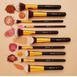 10 piece makeup brush set in pakistan sanwarna.pk