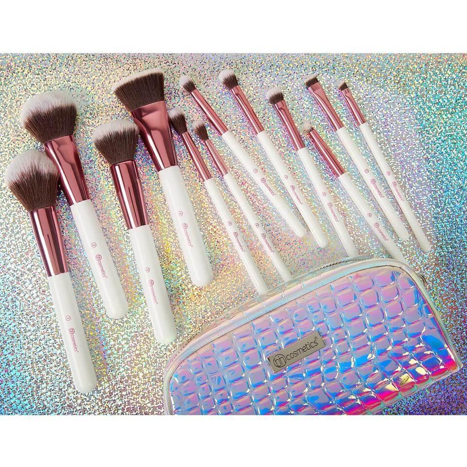bh cosmetics crystal zodiac brush set in pakistan sanwarna.pk