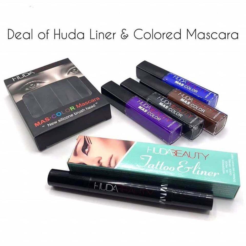 2 In 1 Professional Eye Makeup Liner-Mascara in pakistan sanwarna.pk