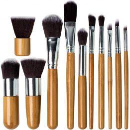 wood makeup brush in pakistan sanwarna.pk