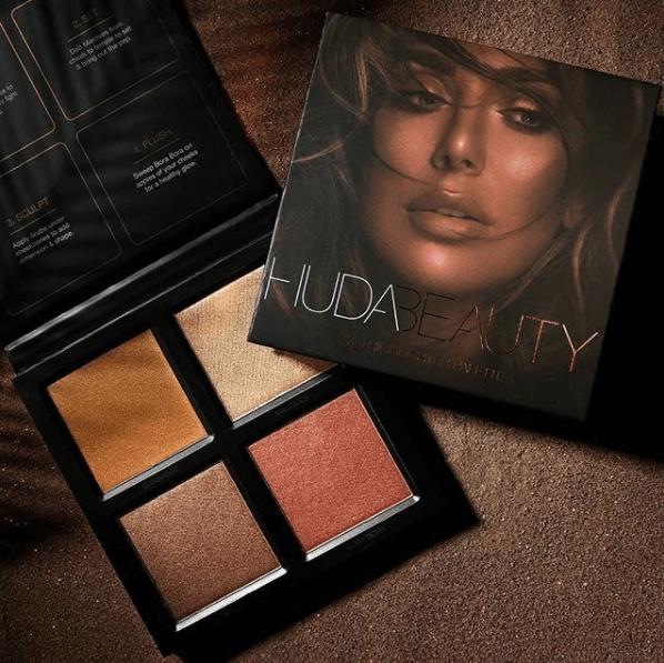Huda Beauty 3D Highlighter Palette in Pakistan sanwarna.pk