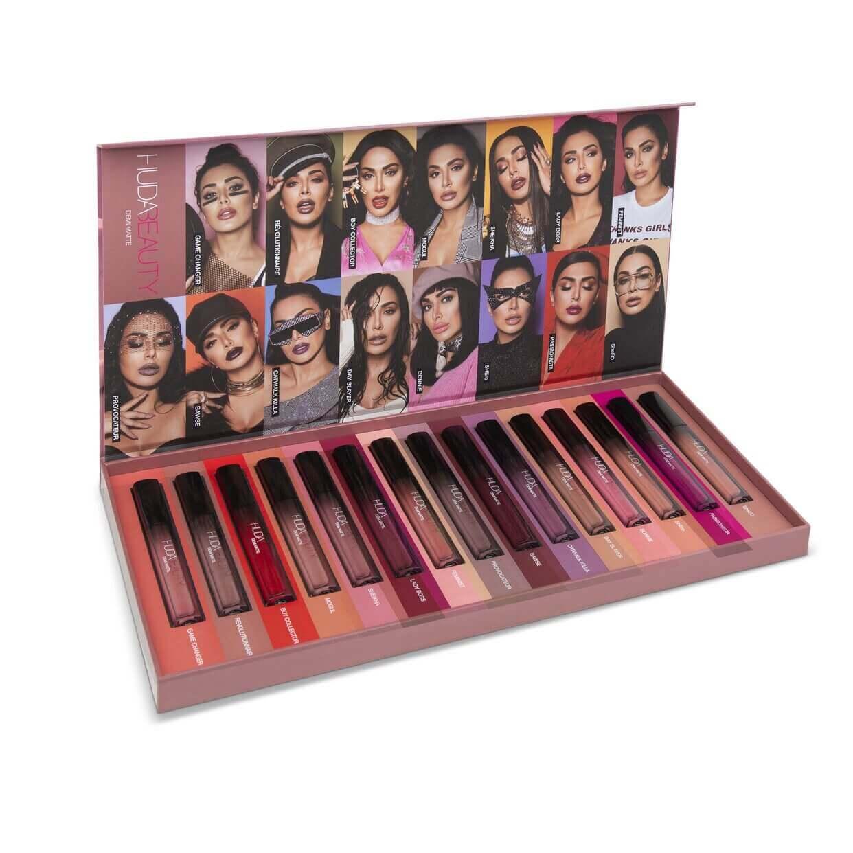 huda beauty demi matte lipstick set in pakistan sanwarna.pk