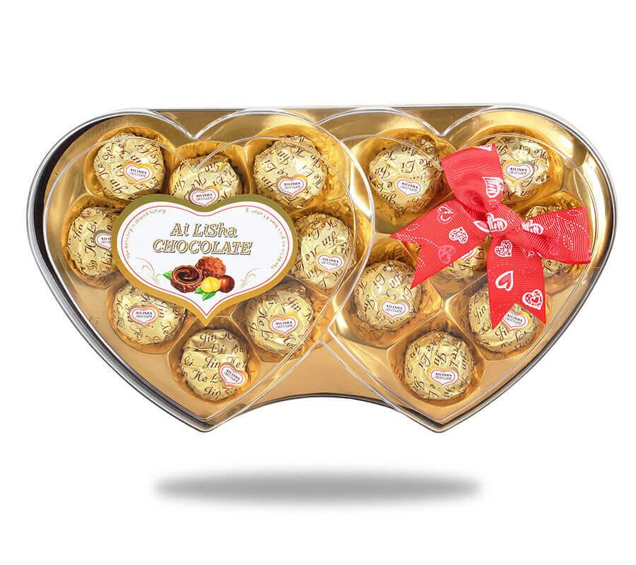 Twin Hearts Chocolate Mold in pakistan sanwarna.pk