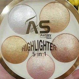 Ashley Highlighter 5 in 1 in pakistan sanwarna.pk