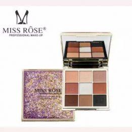 MISS ROSE Professional Makeup 9 Color Eye Shadow Palette in pakistan sanwarna.pk