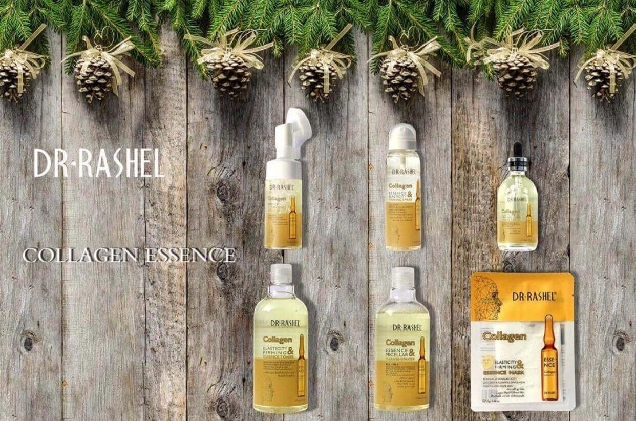 Buy Dr. Rashel Gold Collagen Elastin Face Serum (8 in 1) in pakistan sanwarna.pk