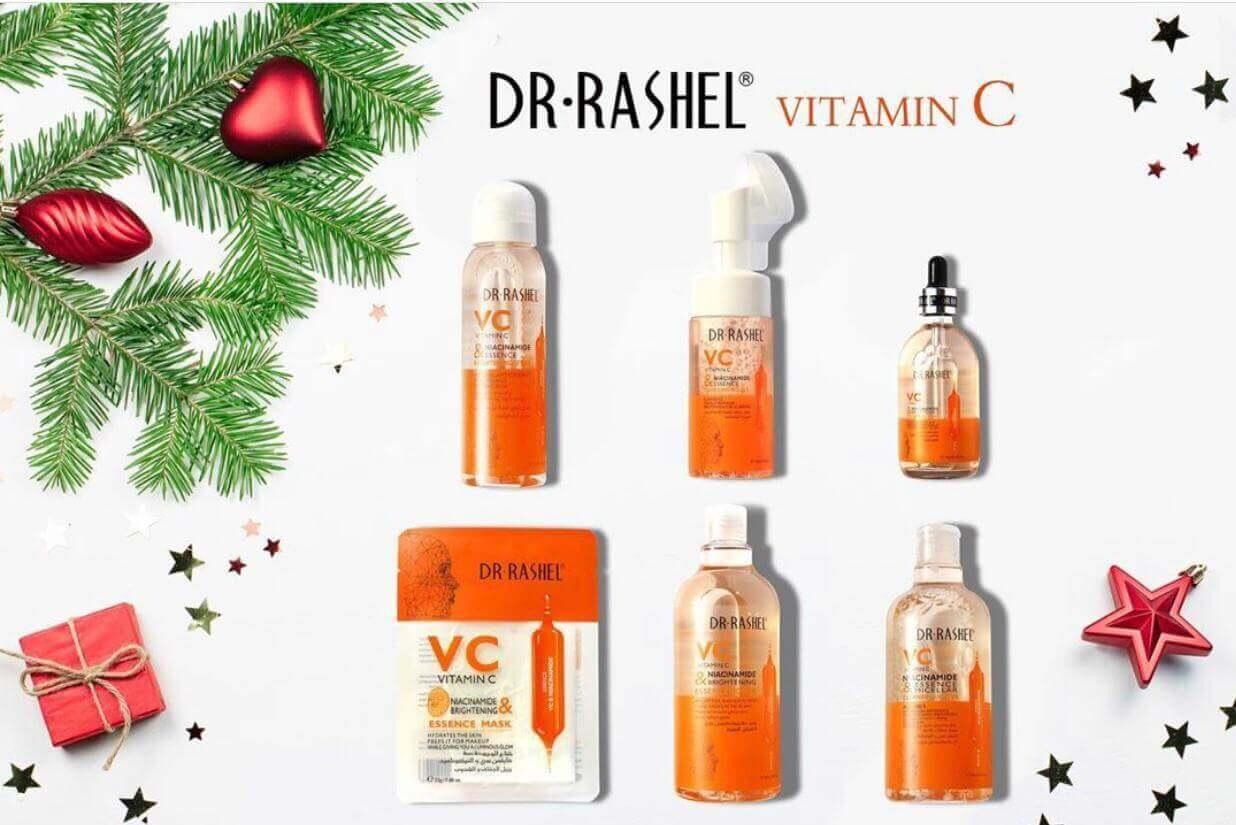 Buy Dr.Rashel Vitamin C Serum and Claenser Combo Deal online in pakistan sanwarna.pk