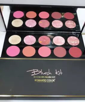 Romantic 10 Color Blush Kit: Buy Online at Best Prices in pakistan sanwarna.pk