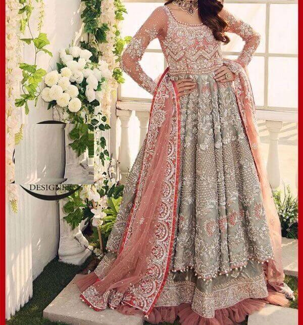 bridal maxi dress price in pakistan sanwarna.pk