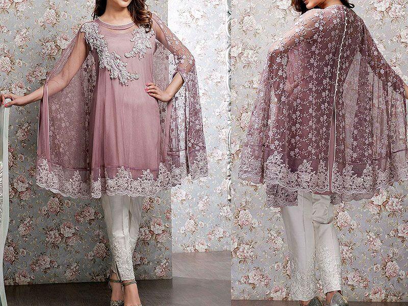 butterfly style dress in pakistan sanwarna.pk
