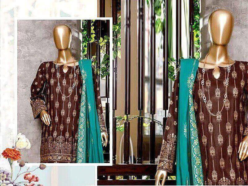 Banarsi Print Lawn Suits in pakistan sanwarna.pk