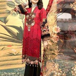 lawn suits with chiffon dupatta online in pakistan sanwarna.pk