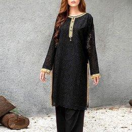 2-Pcs Chikankari Embroidered Lawn Dress in pakistan sanwarna.pk