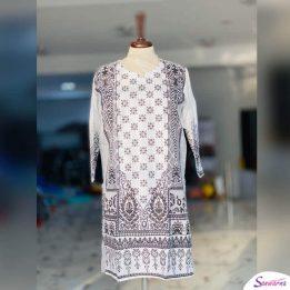 white kurti designs for female 2021 in Pakistan