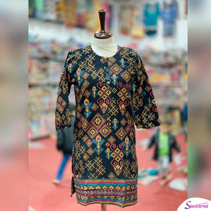 Latest Khaddar Kurti Design 2021