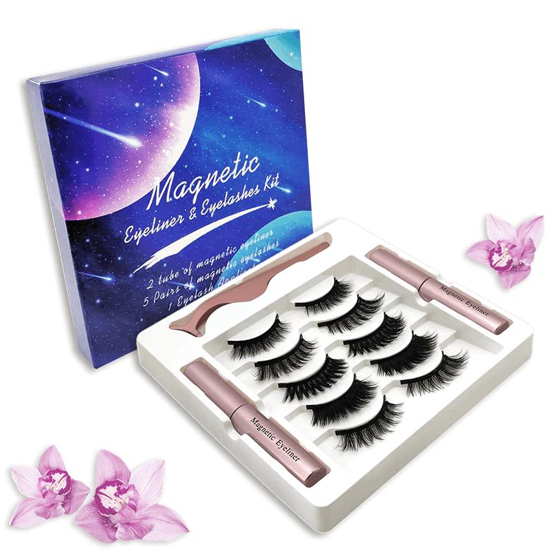 Magnetic Eyelashes with Eyeliner Kit Buy Online Price in Pakistan