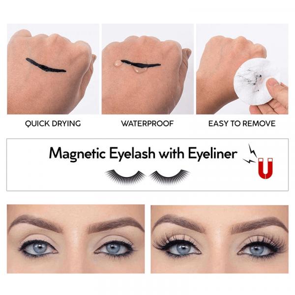 magnetic eyeliner eyelash suit sanwarna pk