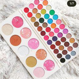 58 Color Eyeshadow Palette Sanwarna.pk