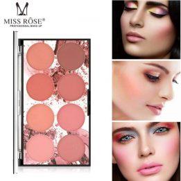 Professional 8 Color Blusher Sanwarna.pk