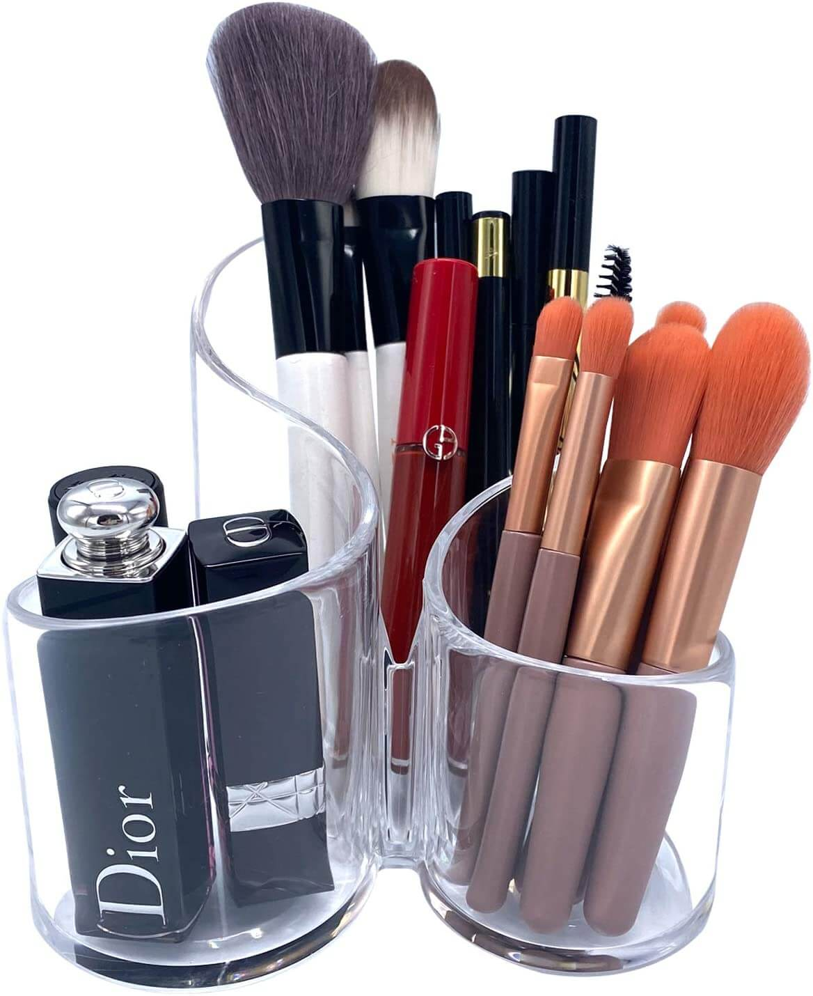 Large Capacity Cosmetic Brushes Box Sanwarna.pk