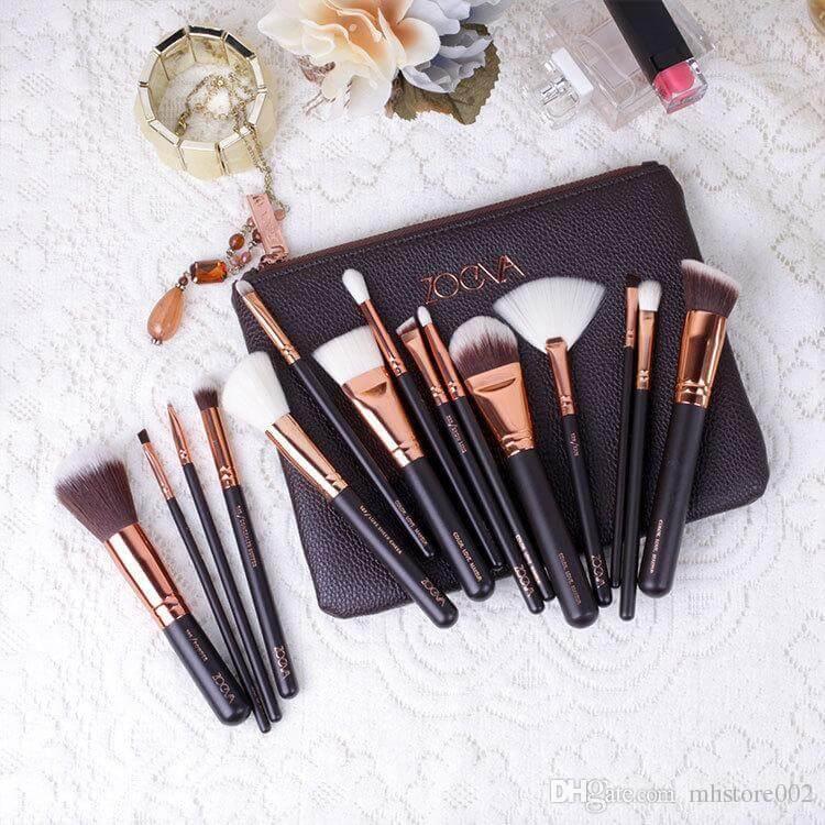 Makeup Brushes Set Sanwarna.pk