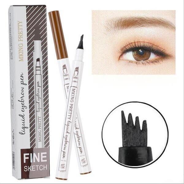 Waterproof Smudge-proof Eye Brow Pencil Sanwarna.pk
