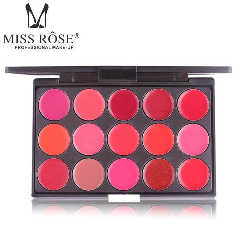 15 Color Matte Lipstick Sanwarna.pk