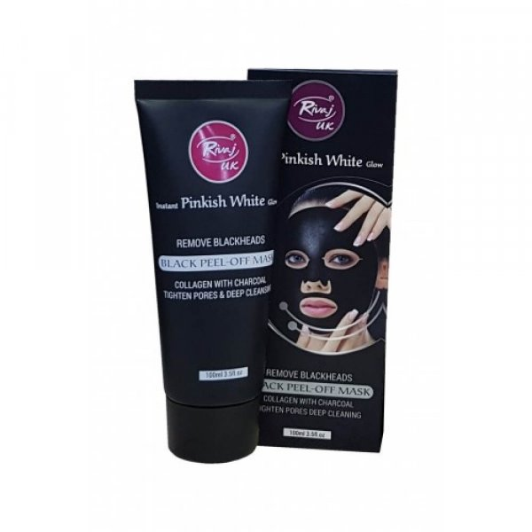Black Charcoal Peel Off Mask Sanwarna.pk
