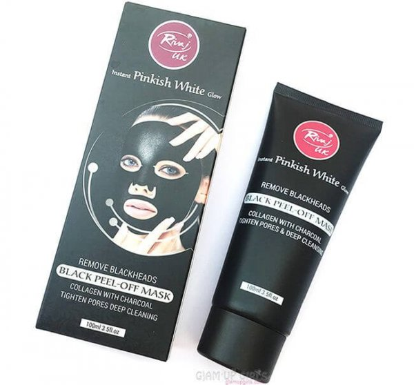 Black Peel Off Mask Collagen with Charcoal