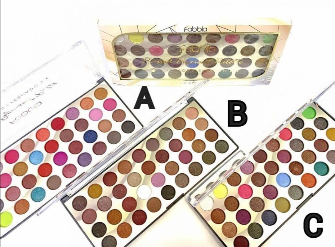 35 color eyeshadow palette 3 sets sanwarna.pk