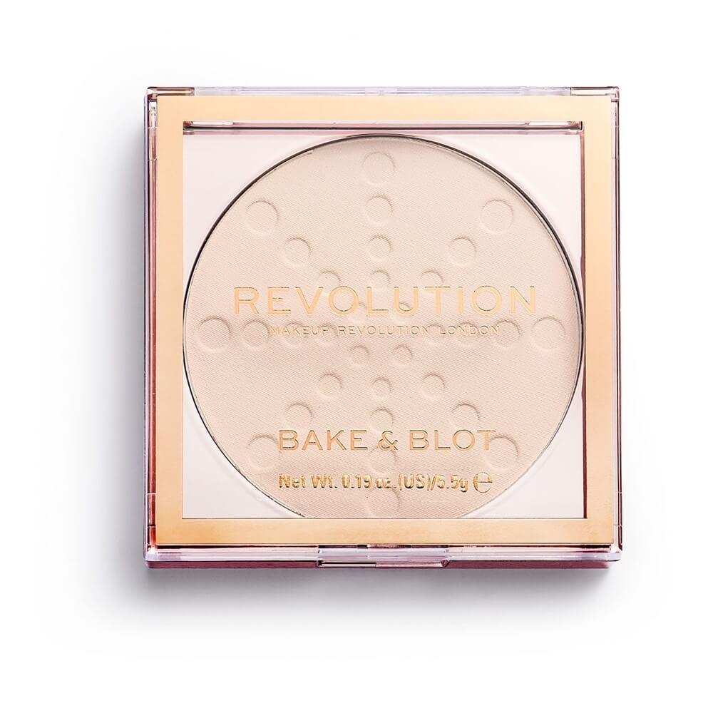 Makeup Revolution Bake & Blot Powder Sanwarna.pk