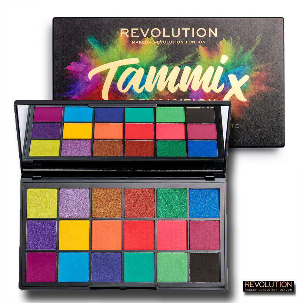 Original Revolution - Tammi X Eyeshadow palette - Tropical Carnival