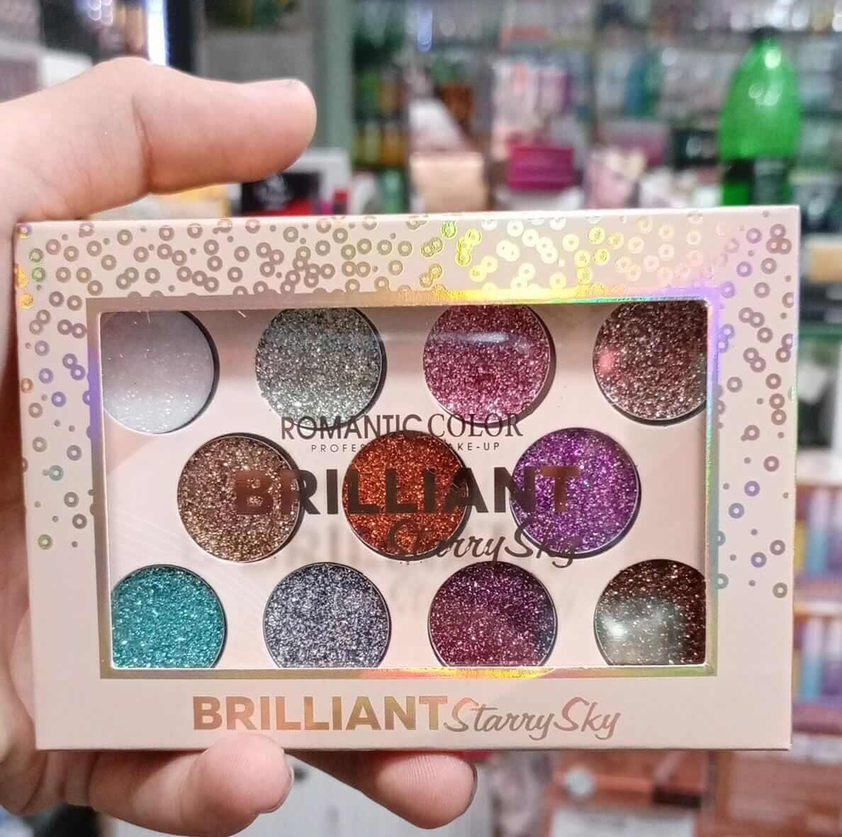 romantic color eyeshadow palette review sanwarna.pk